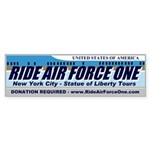 Ride Air Force One Bumper Sticker (50 pk)