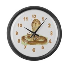 Cobra Nest Large Wall Clock