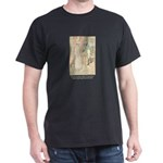 Jane Austen Persuasion Black T-Shirt