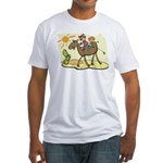 Cute Camel Fitted T-Shirt