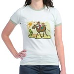Cute Camel Jr. Ringer T-Shirt