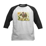 Cute Camel Kids Baseball Jersey