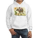 Cute Camel Hooded Sweatshirt