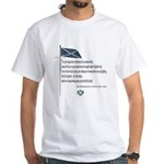 Declaration Of Arbroath White T-Shirt