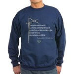 Declaration Of Arbroath Sweatshirt (dark)