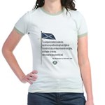 Declaration Of Arbroath Jr. Ringer T-Shirt