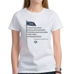 Declaration Of Arbroath Women's T-Shirt