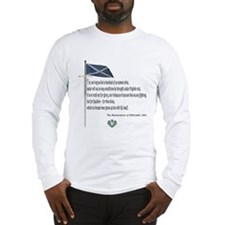 Declaration Of Arbroath Long Sleeve T-Shirt