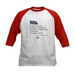 Declaration Of Arbroath Kids Baseball Jersey