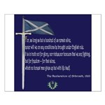 Declaration Of Arbroath Small Poster