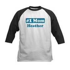 #1 Mom Heather Tee
