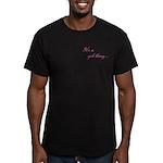 Girl Thing Men's Fitted T-Shirt (dark)