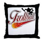 Trollball! Throw Pillow