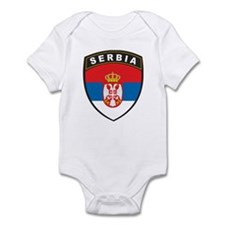 Serbia Infant Bodysuit