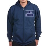 LIKE FATHER Zipped Hoodie