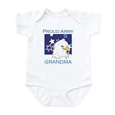 Proud Army Grandma Infant Bodysuit