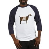 Nubian Dairy Goat Baseball Jersey