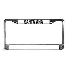 Santa Ana, California License Plate Frame