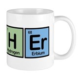 Archer made of Elements Small Mug