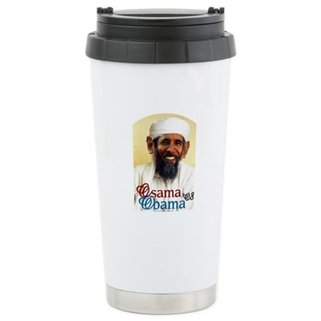 Osama Obama '08 Ceramic Travel Mug