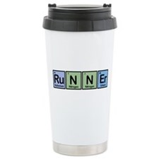 Runner made of Elements Travel Mug