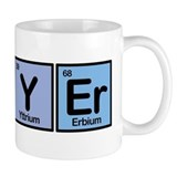 Lawyer made of Elements Coffee Mug