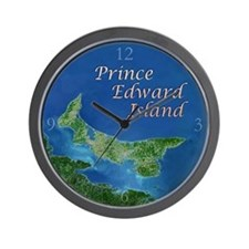 Prince Edward Island Wall Clock