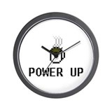 Power Up Wall Clock