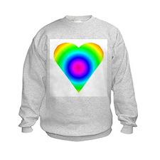 Trippy Heart 8 Sweatshirt