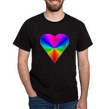 Trippy Heart 7 T-Shirt
