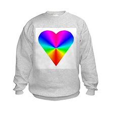 Trippy Heart 7 Sweatshirt