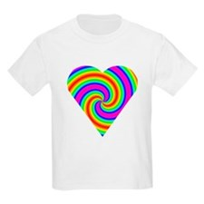 Trippy Heart 6 T-Shirt