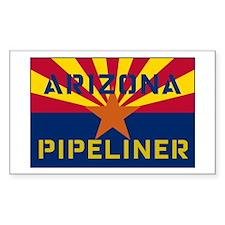 Arizona Pipeliner Rectangle Decal
