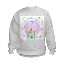 Angel 7th Birthday Sweatshirt
