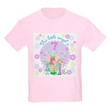 Angel 7th Birthday Kids T-Shirt