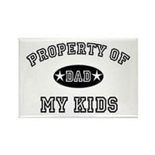 Property of My Kids Rectangle Magnet (100 pack)