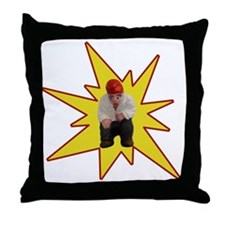 Cute Catalunya Throw Pillow