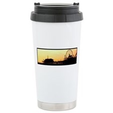 Santa Monica Pier Ceramic Travel Mug