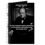Sir Winston Churchill Journal
