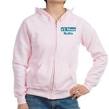 #1 Mom Hallie Zip Hoody