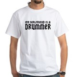 My Girlfriend is a Drummer Shirt