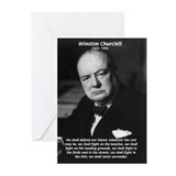 Churchill Greeting Cards (10 Pack)