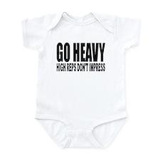 GO HEAVY Infant Bodysuit