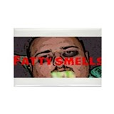 Fatty Smella Rectangle Magnet!