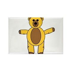 STUFFY Rectangle Magnet (10 pack)