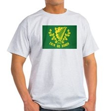 Ireland Green Flag Ash Grey T-Shirt