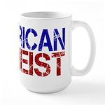 American Atheist Large Mug