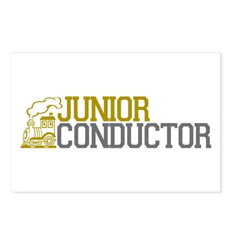 Junior Train Conductor Postcards (Package of 8)