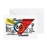 Classic Chassis 60th Birthday Greeting Card