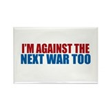 Against Next War Rectangle Magnet (100 pack)